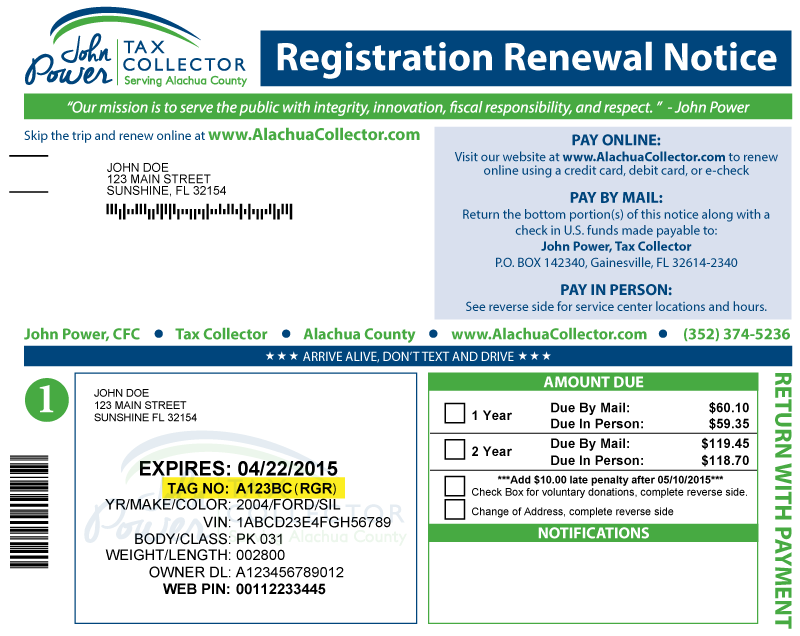Download image Florida Vehicle Registration Card PC, Android, iPhone ...